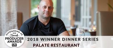 Palate Outstanding Winner Dinner