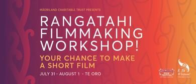 Māoriland Rangatahi Filmmaking Workshop