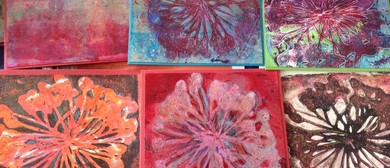 Winter Art Warmers - Mixed Media Printing