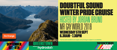 Doubtful Sound Winter Pride Cruise Day