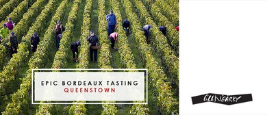 Glengarry Epic Bordeaux Tasting 2018