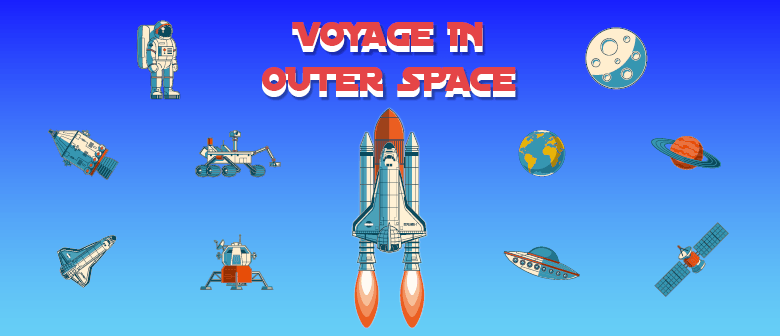 Children's French Holiday Fun - Voyage In Outer Space