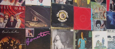 Christmas Pop & Rock Vinyl Record Sale Red Beach