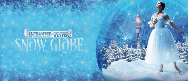 Enchanted Winter Snow Globe