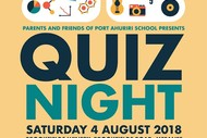 Port Ahuriri School Quiz Night