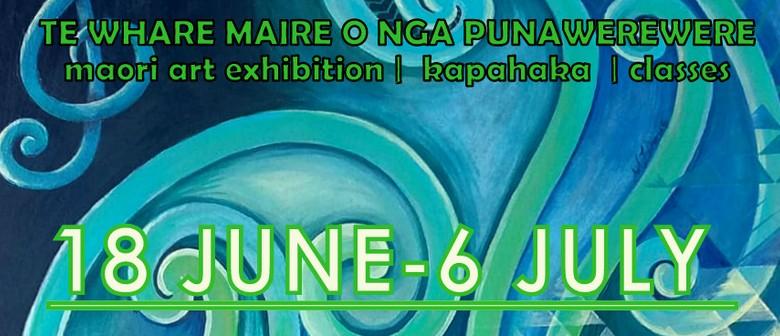 Te Whare Maire O nga Punawerewere - Maori Art Exhibition