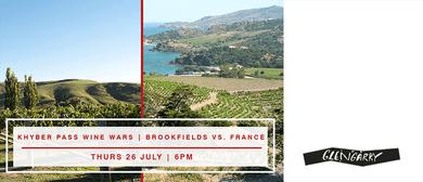 Khyber Pass Wine Club - Brookfields vs. France
