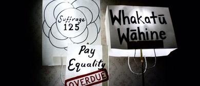 Placard Lantern Making for Suffrage 125 Parade