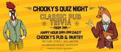 Chooky's Famous Quiz Night!