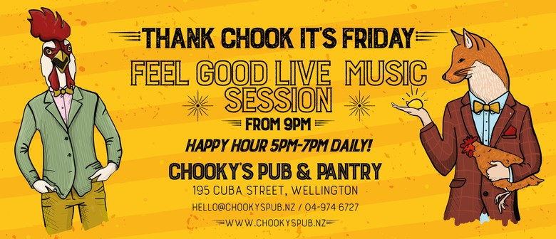 Thank Chook It's Friday!