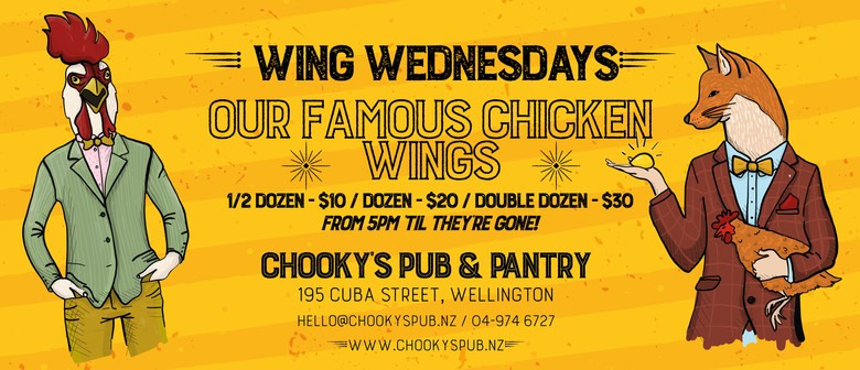 Chooky's Wing Wednesdays