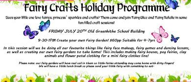 Fairy Crafts Holiday Fun! Make Your Own Fairy Garden!