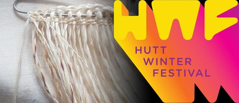 Taaniko Brooch Workshop - Hutt Winter Festival