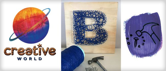 String Art – School Holiday Programme