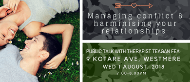 Managing Conflict & Harmonising Your Relationships