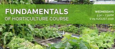 Fundamentals of Horticulture Course