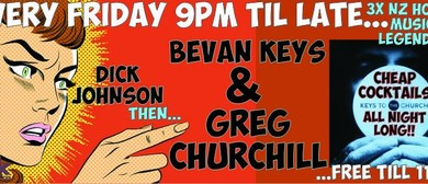 Greg Churchill, Bevan Keys & Dick Johnson