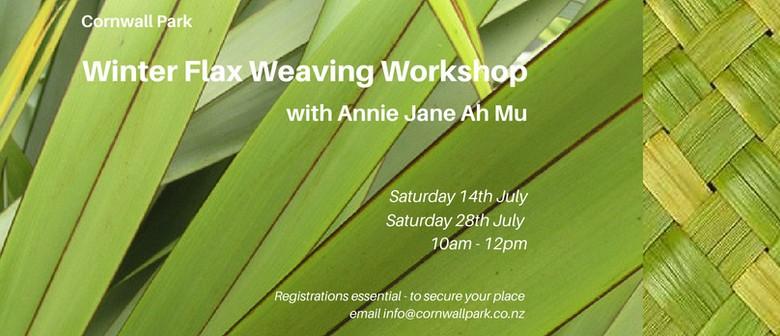 Winter Flax Weaving Workshop