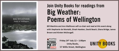 National Poetry Day 2018 - Big Weather: Poems of Wellington