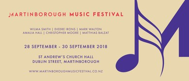 Martinborough Music Festival 2018