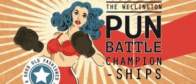 The Wellington Pun Battle Semi Finals