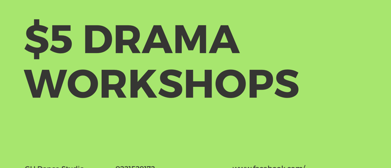 Over 6s Drama Workshops
