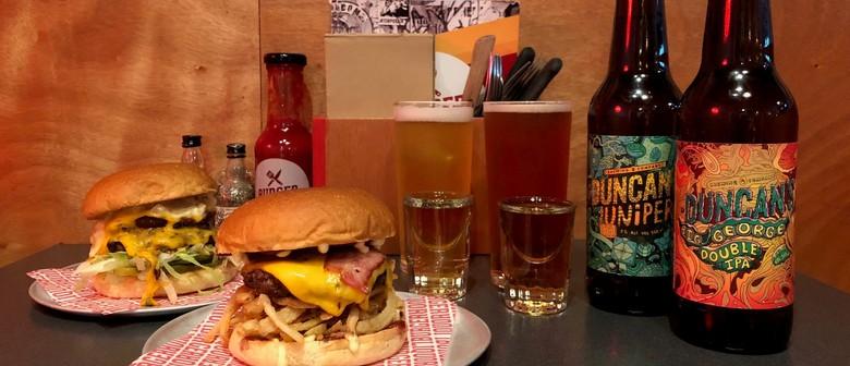 Road to Beervana: Duncan's Beer, Boiler Makers and Burgers
