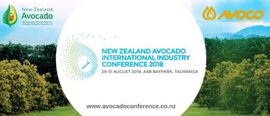 New Zealand Avocado International Industry Conference 2018