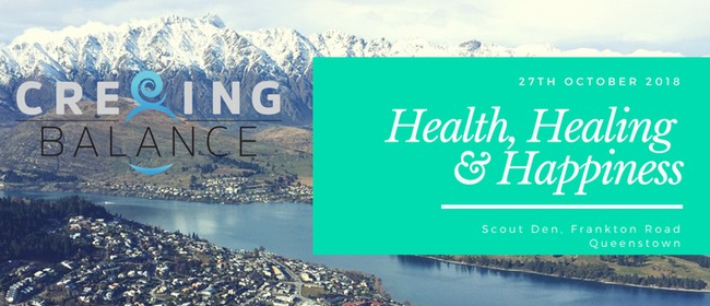 Cre8ing Balance - Health, Healing & Happiness: CANCELLED