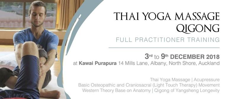 Thai Yoga Massage/Qigong Practitioner Training