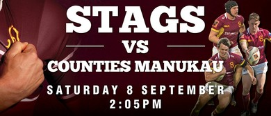 Stags vs Counties Manukau
