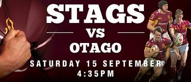 Stags vs Otago