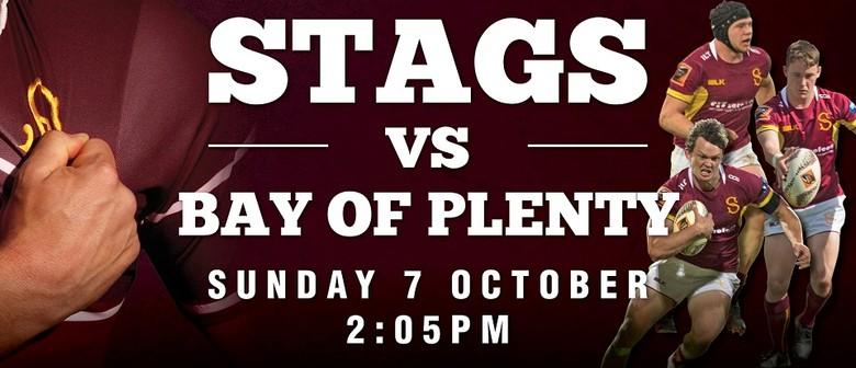 Stags vs Bay of Plenty