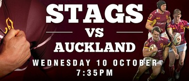 Stags vs Auckland