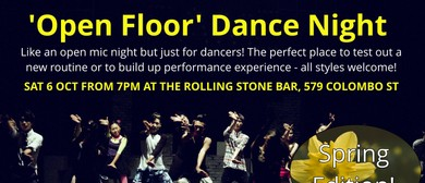 Open Floor Dance Night - Spring Edition