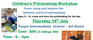 Children's Printmaking Workshop