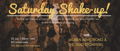 Shake-up with Lauren Armstrong & The Trad Stompers