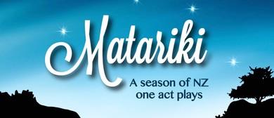 Matariki - Elmwood Players Short Play Season