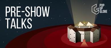 Pre-show talk: The language of movement