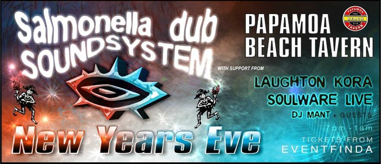 NYE with Salmonella Dub Soundsystem