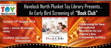 Havelock North Plunket Toy Library Movie Fundraiser