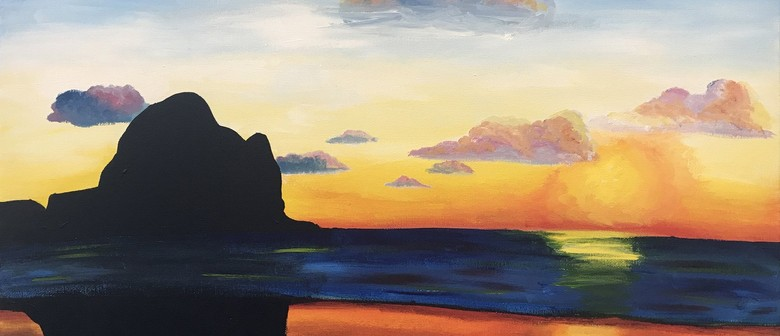 Paintvine - Piha Sunset