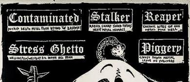 Reaper, Contaminated, Stalker, Stress Ghetto, Piggery