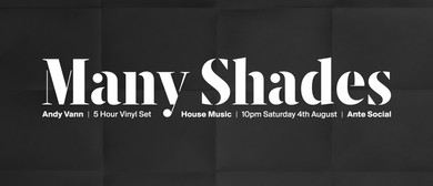 Many Shades feat DJ Andy Vann