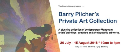 Barry Pilcher's Private Art Collection