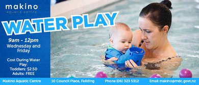 Water Play Wednesday - Babies to Children Under 5