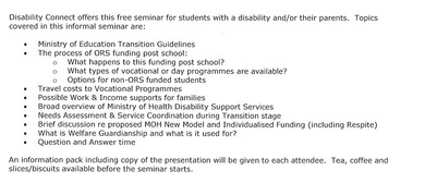 Transition Leaving School With Disabilities