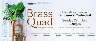 Brass Quad Hamilton Concert