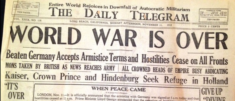 1918: A Peace to End All Peace?