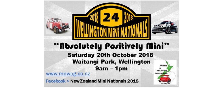 Absolutely Positively Mini National Mini Car Show Wellington - Bay area car show events